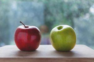 Ausmisten Minimalismus Äpfel